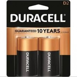 D size Battery (pack of 2)
