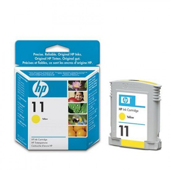 HP 11 Yellow Ink Cartridge C4838A