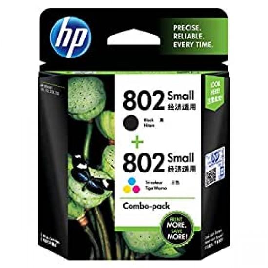HP 802 Ink Cartridge Combo Pack CR312AA