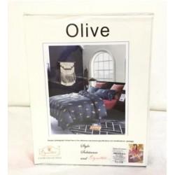 Olive Double BedSheet  Bedsheet