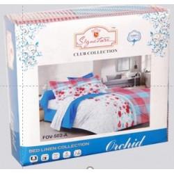 Orchid  Bedsheet