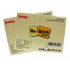 Self Stick Repositionable Note Pad 100 Sheets 3 X 4